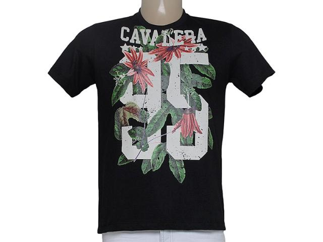 Camiseta Masculina Cavalera Clothing 01.01.8807 Preto