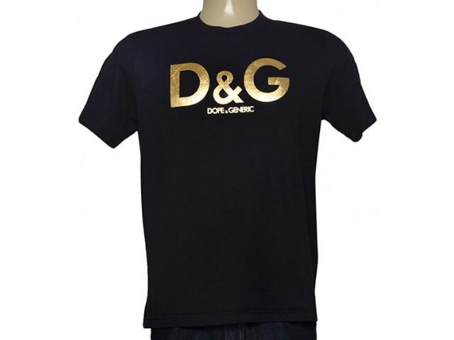 Camiseta Masculina Cavalera Clothing 01.01.7531 Preto