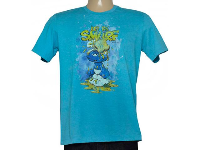Camiseta Masculina Cavalera Clothing 01.01.6736 Azul