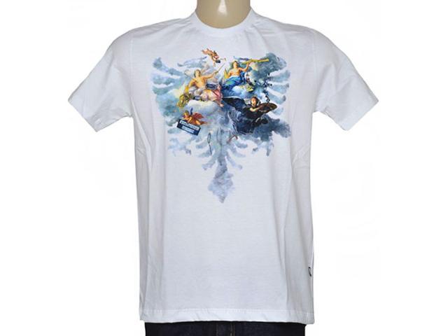 Camiseta Masculina Cavalera Clothing 01.01.8737 Branco