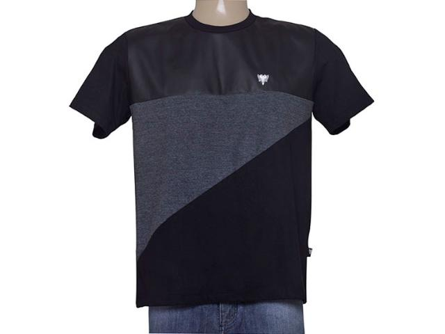 Camiseta Masculina Cavalera Clothing 01.01.9028 Preto