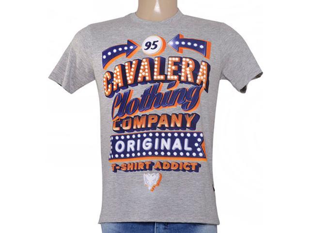 Camiseta Masculina Cavalera Clothing 01.01.8749 Mescla