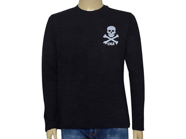 Camiseta Masculina Cavalera Clothing 01.02.0711 Preto