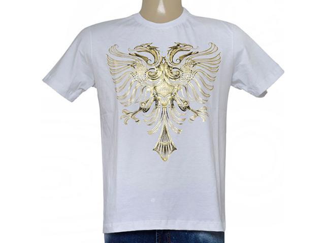 Camiseta Masculina Cavalera Clothing 01.01.9054 Branco