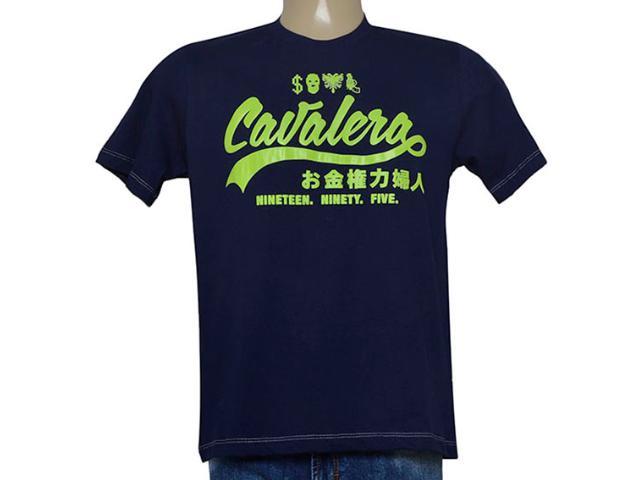 Camiseta Masculina Cavalera Clothing 01.01.9097 Marinho