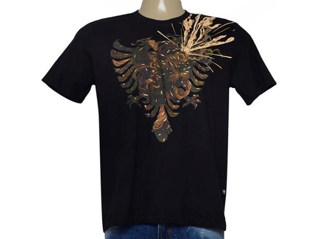 Camiseta Masculina Cavalera Clothing 01.01.8885 Preto
