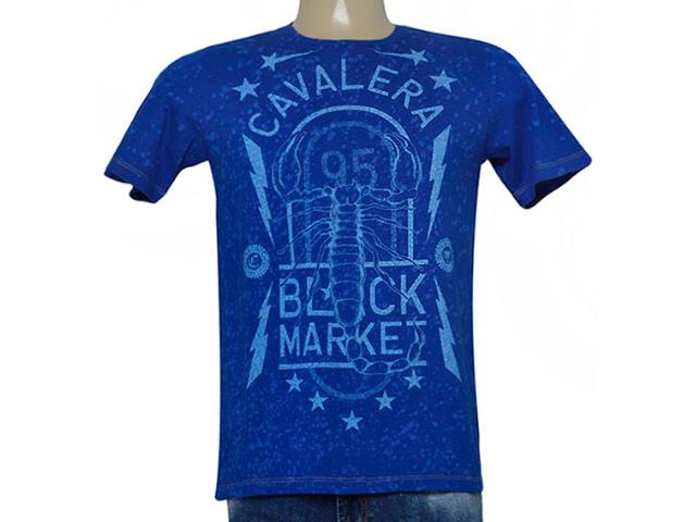 Camiseta Masculina Cavalera Clothing 01.01.9044 Royal