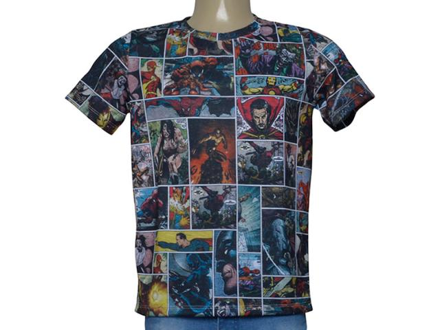 Camiseta Masculina Cavalera Clothing 01.01.9924 Estampado