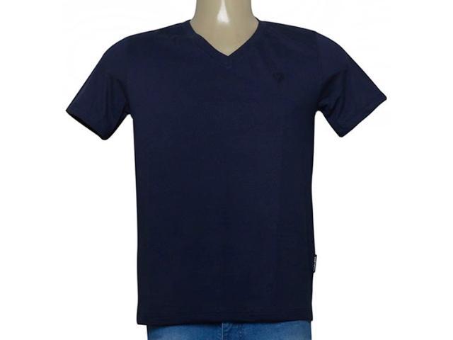 Camiseta Masculina Cavalera Clothing 01.01.9614 Marinho