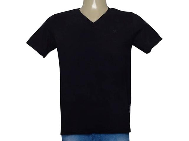 Camiseta Masculina Cavalera Clothing 01.01.9614 Preto