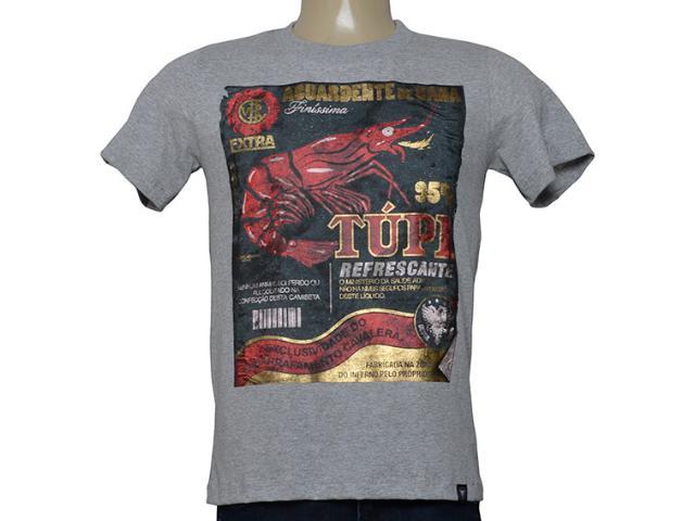 Camiseta Masculina Cavalera Clothing 01.20.0034 Mescla
