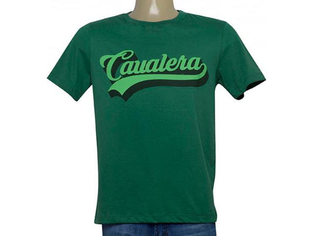 Camiseta Masculina Cavalera Clothing 01.20.0177 Verde Musgo