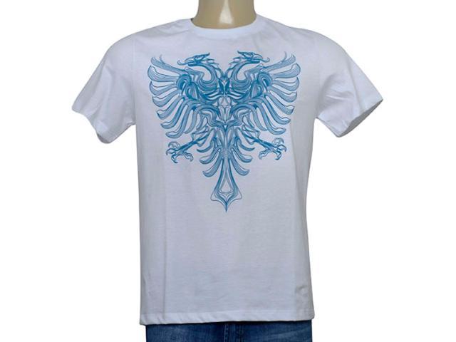 Camiseta Masculina Cavalera Clothing 01.20.0109 Branco