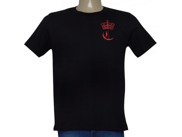 Camiseta Masculina Cavalera Clothing 01.20.0107 Preto