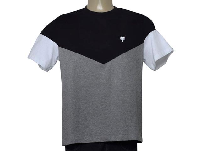 Camiseta Masculina Cavalera Clothing 01.01.9700 Preto