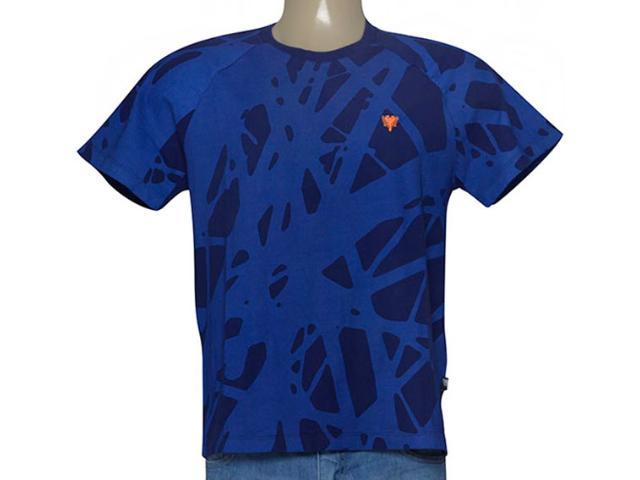 Camiseta Masculina Cavalera Clothing 01.01.9232 Azul
