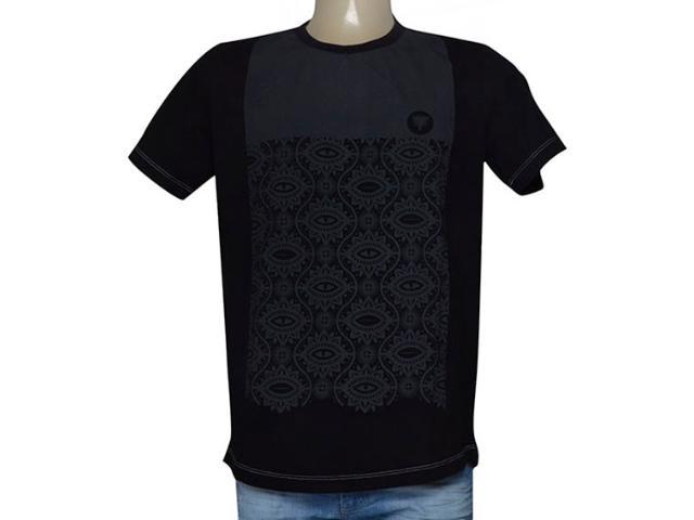 Camiseta Masculina Cavalera Clothing 01.01.9502 Preto