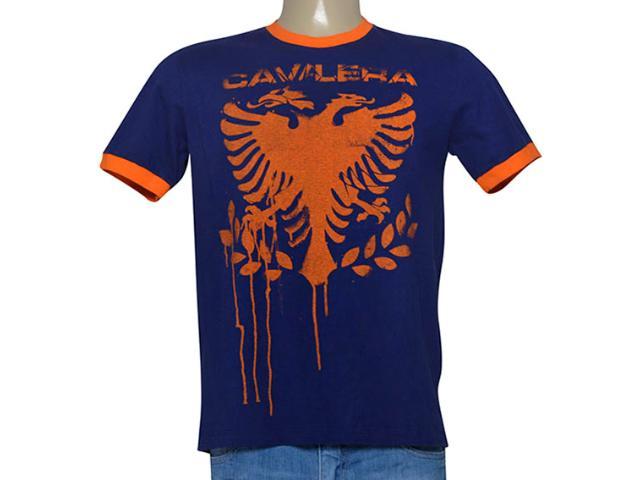 Camiseta Masculina Cavalera Clothing 01.01.9190 Marinho