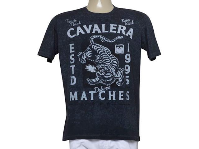 Camiseta Masculina Cavalera Clothing 01.01.9450 Preto