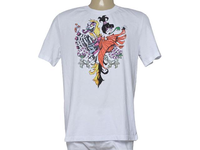 Camiseta Masculina Cavalera Clothing 01.01.9428 Branco