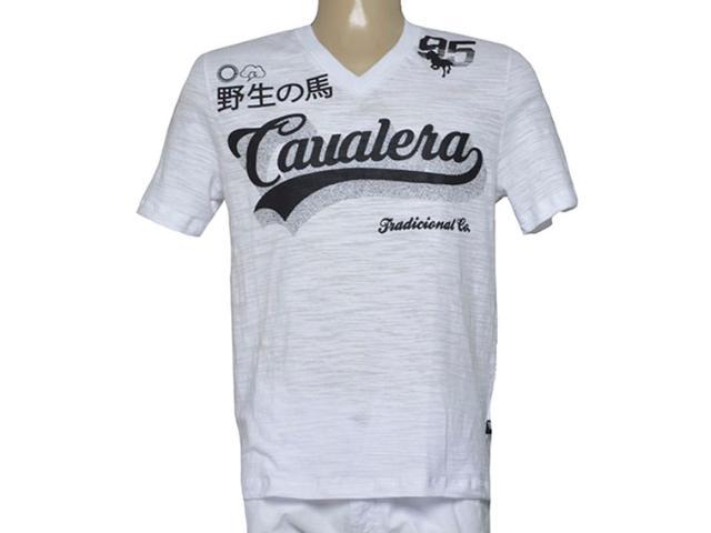 Camiseta Masculina Cavalera Clothing 01.01.9506 Branco
