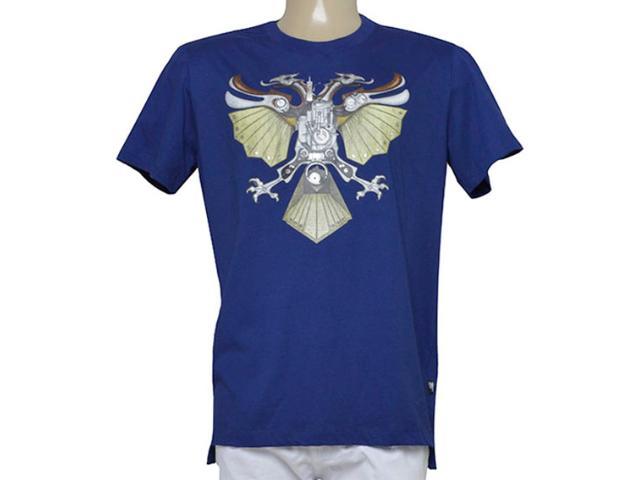 Camiseta Masculina Cavalera Clothing 01.01.9339 Marinho