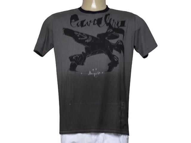 Camiseta Masculina Cavalera Clothing 01.01.9388 Grafite
