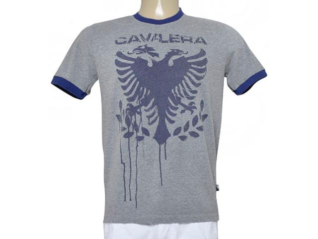 Camiseta Masculina Cavalera Clothing 01.01.9190 Mescla