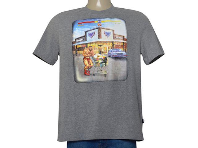 Camiseta Masculina Cavalera Clothing 01.01.9549 Mescla