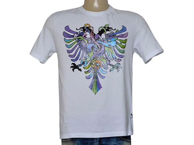 Camiseta Masculina Cavalera Clothing 01.01.9587 Branco