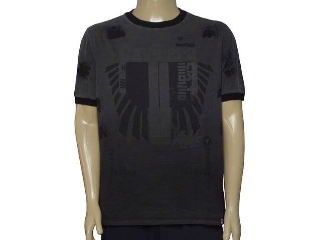 Camiseta Masculina Cavalera Clothing 01.01.9625 Cinza