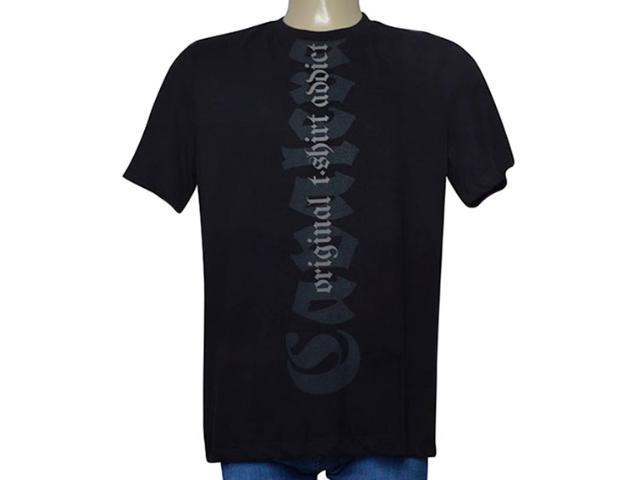 Camiseta Masculina Cavalera Clothing 01.01.9699 Preto