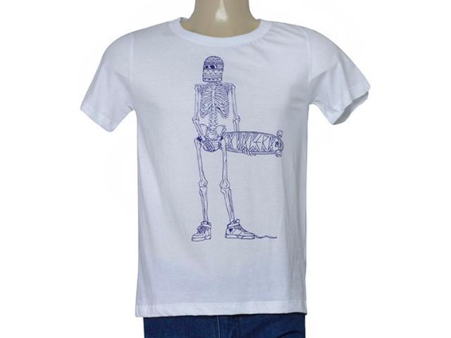 Masculina Camiseta Cavalera Clothing 01.01.9725 Branco