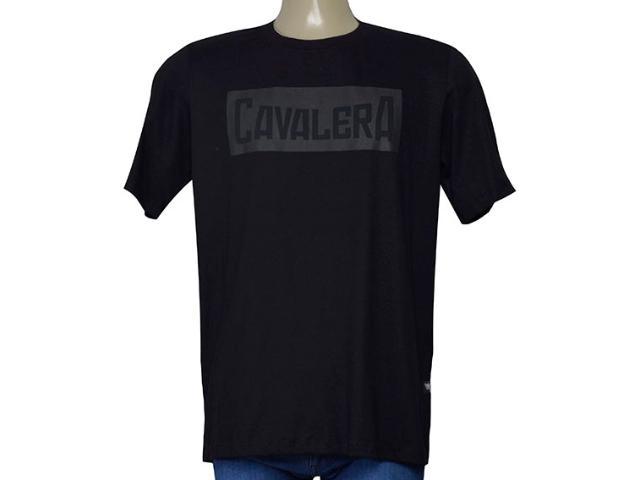 Camiseta Masculina Cavalera Clothing 01.01.9585 Preto