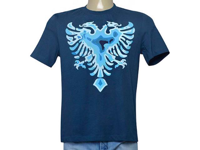 Camiseta Masculina Cavalera Clothing 01.01.9543 Azul