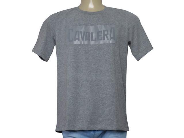 Camiseta Masculina Cavalera Clothing 01.01.9585 Mescla