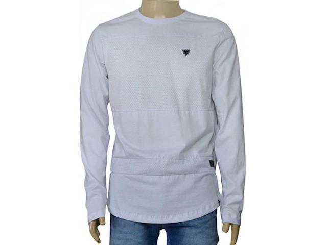 Masculina Camiseta Cavalera Clothing 01.02.0789 Branco