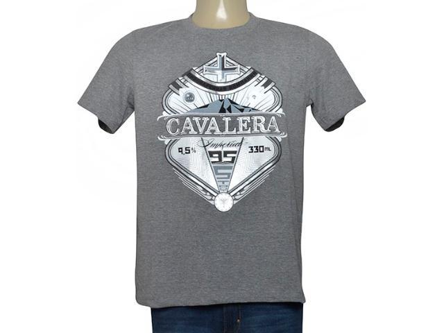 Masculina Camiseta Cavalera Clothing 01.01.9732 Mescla