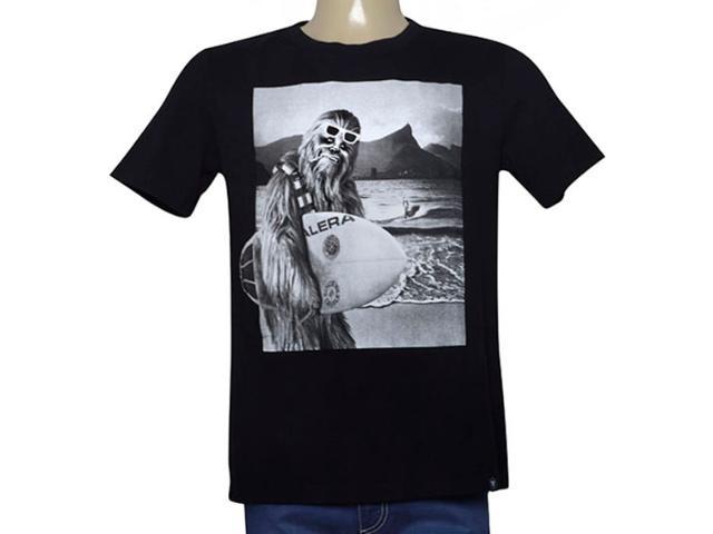 Camiseta Masculina Cavalera Clothing 01.01.9969 Preto