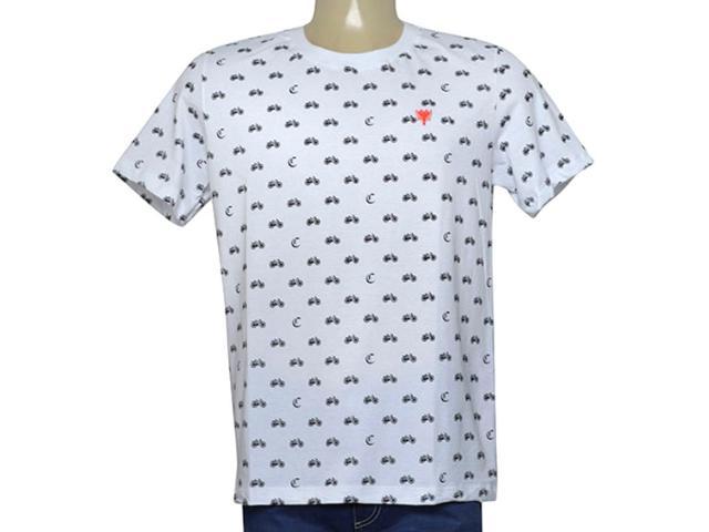 Camiseta Masculina Cavalera Clothing 01.20.0036 Branco