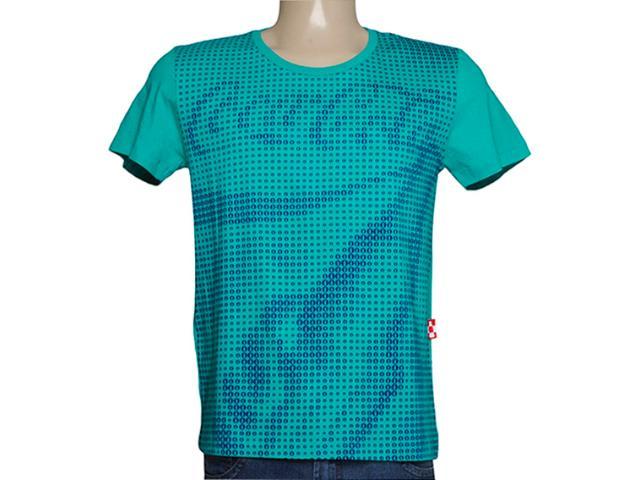 Camiseta Masculina Coca-cola Clothing 353203785 Verde