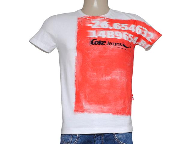 Camiseta Masculina Coca-cola Clothing 353204171 Off White