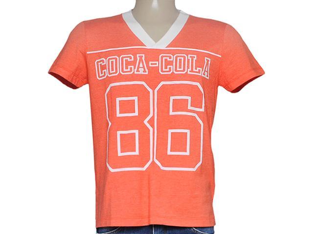 Camiseta Masculina Coca-cola Clothing 353204075 Laranja