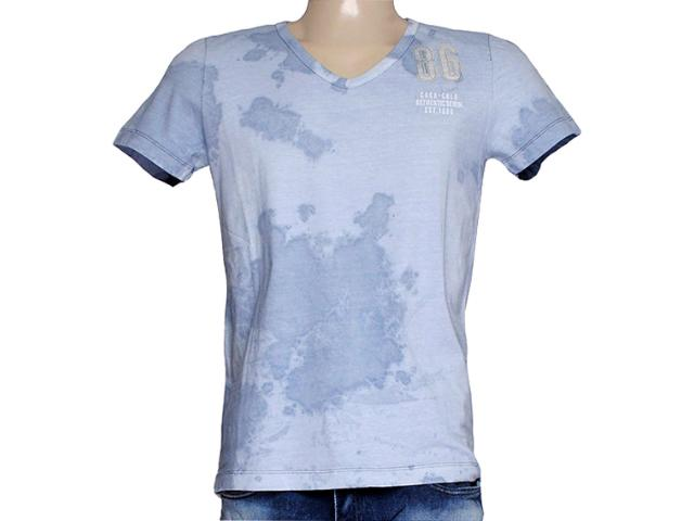Camiseta Masculina Coca-cola Clothing 353204288 Azul Claro