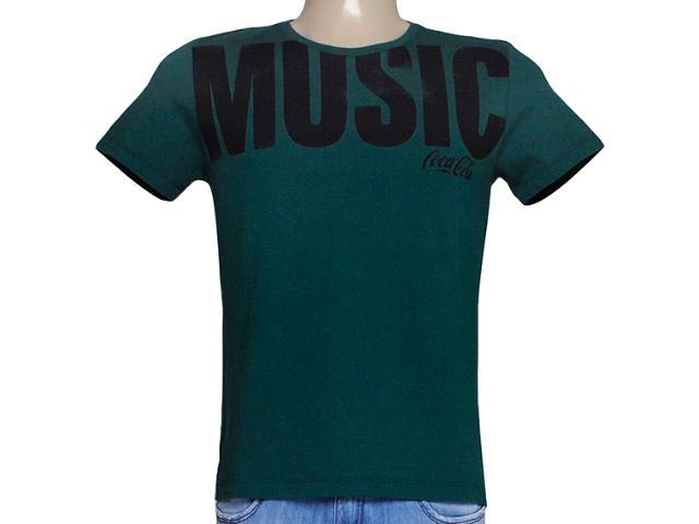 Camiseta Masculina Coca-cola Clothing 353203965 Verde
