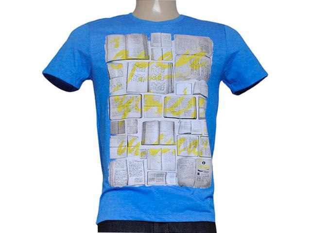 Camiseta Masculina Coca-cola Clothing 353203994 Azul Bic