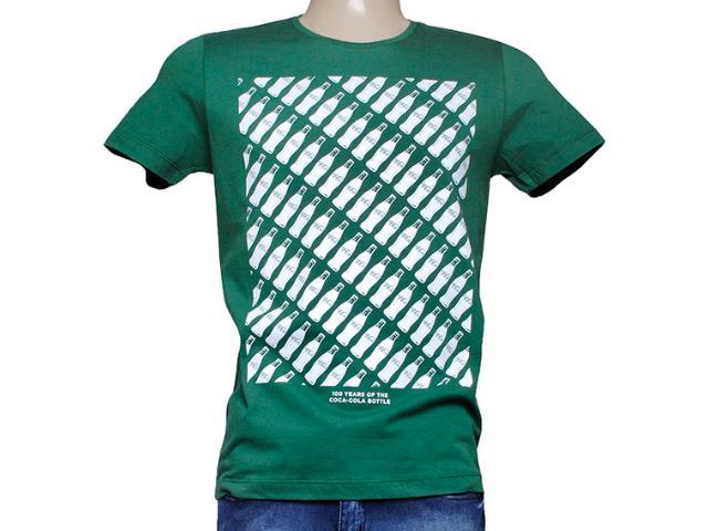 Camiseta Masculina Coca-cola Clothing 353204430 Verde
