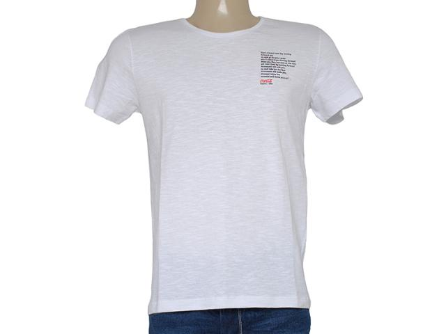 Camiseta Masculina Coca-cola Clothing 353204231 Branco