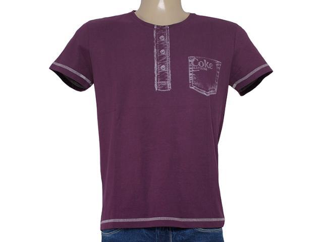 Camiseta Masculina Coca-cola Clothing 353203512 Vinho