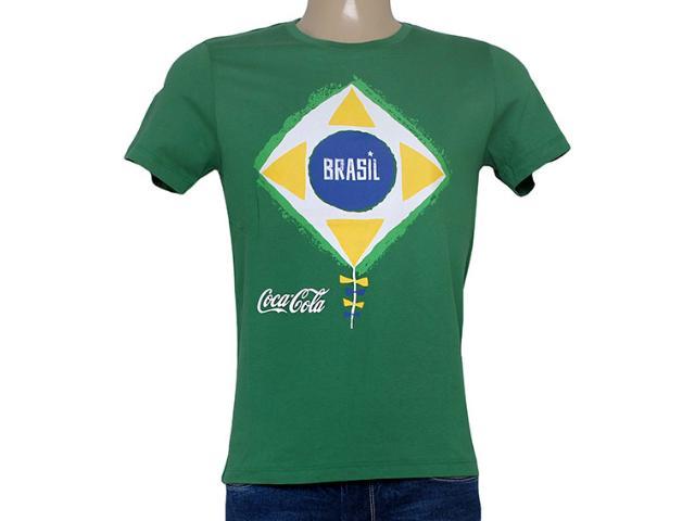 Camiseta Masculina Coca-cola Clothing 353203946 Verde